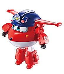 Transforming Police Jett transforms from toy airplane to bot in just 10 easy steps Wearing his Police attire, Jett is young, confident, and really fast on the hit preschool show! In Season 3, Jett joins each Mission Team in each episode to save the d...