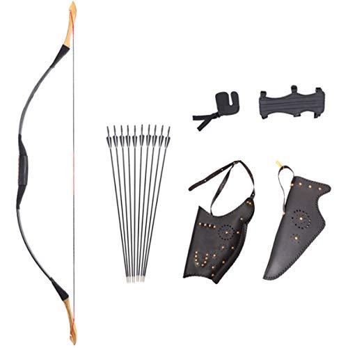 Arco de caza para adultos recurves arcos conjunto de tiro con arco,...