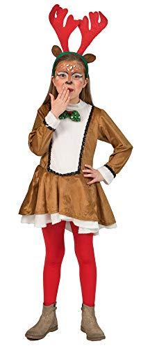 Rendier renda kostuum voor meisjes - jurk Kerstmis carnaval reindeer kersthelder bekleding