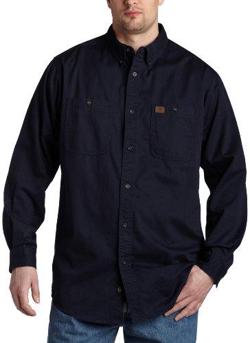 Wrangler Herren Shirt Riggs Workwear Big & Tall Logger - blau - XX-Large Hoch