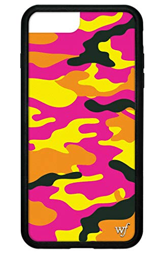 Wildflower Limited Edition Cases for iPhone 6 Plus, 7 Plus, or 8 Plus (Neon Camo)