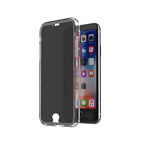 Privacy Screen Protector for iPhone 6, 6S, 7, iPhone 8, iPhone SE2 4.7 Inch, Anti Spy, Anti Blue Light, Anti Scratch, Bubble Free, Anti Glare, Edge to Edge Full Cover [Transparent]