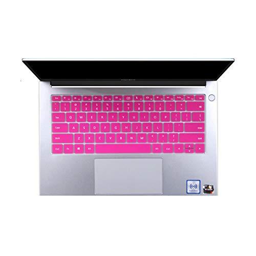 For Huawei MateBook D 15 (AMD Ryzen) 15.6 inch Laptop 2020 Keyboard Cover Skin Protector For Huawei MateBook D15 Laptop-Rose-