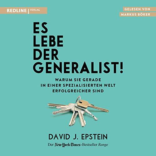 Couverture de Es lebe der Generalist!