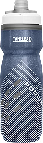 CamelBak Podium Chill Insulated Bike Water Bottle - Squeeze Bottle - 21oz, Navy Perforated