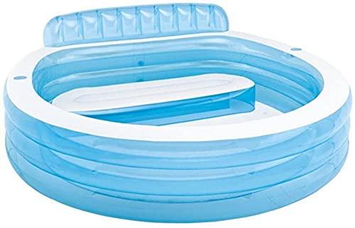 Bubbelbaden opblaasbaar met elektrische luchtpomp Opvouwbare duurzame volwassen babyzithot tubs Beautiful
