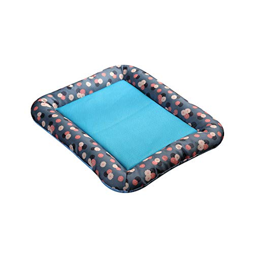 TankMR Pet Dog Cooling Mat, Pets Cool Bed, Chilly Ice Cooler Bed...