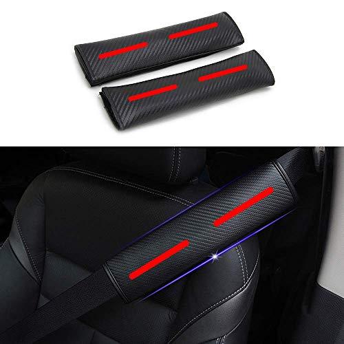 Diseñado para Golf 1 par Almohadillas para Cinturón de Seguridad Viaje Cinturón de seguridad Cojín de hombro con pegatinas reflectantes