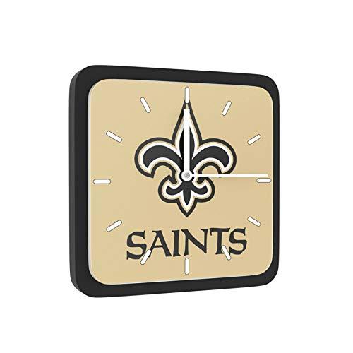 New Orleans Saints Home Office Room Decor Wall Desk Clock Magnet 6x6