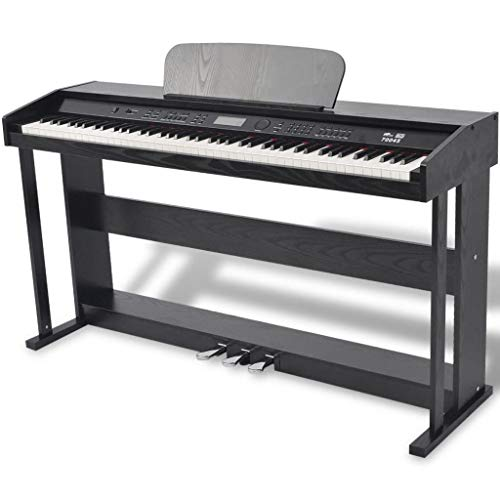 Review OeyeO 88-Key Digital Piano with Pedals Black Melamine Board
