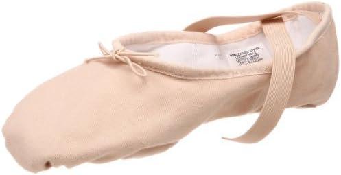 Bloch Women's Pump Split Sole Canvas Ballet Shoe/Slipper, Pink,