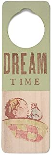 Tree By Kerri Lee Wooden Doorknob Sign Dream Time, Green
