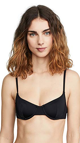 Solid & Striped Women's Eva Bikini Top, Black, X-Small