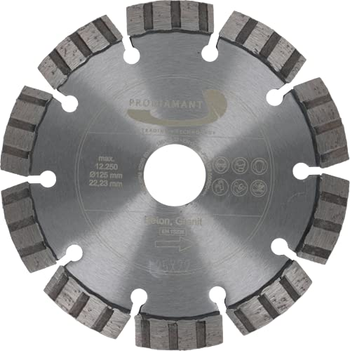 PRODIAMANT Premium Diamant-Trennscheibe Beton Laser 125 mm x 22,2 mm Diamanttrennscheibe PDX821.711 125mm