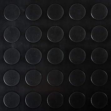 Gummimatten Noppenmatten Schwarz Flachnoppen Gummil/äufer 200x150cm dicke 3mm