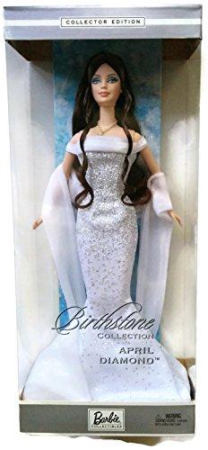 Mattel Barbie 2002 Birthstone Collection - April Diamond Barbie Doll