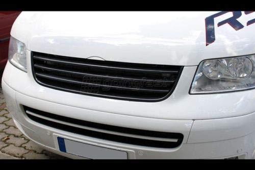 Kühlergrill Sportgrill Front Grill Stoßstange für T5 Multivan Caravelle 03-09