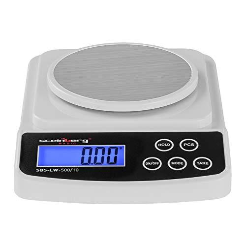 Steinberg BASIC - SBS-LW-500/10 - Balanza de precisión digital - 500 g / 0,01 g - Basic