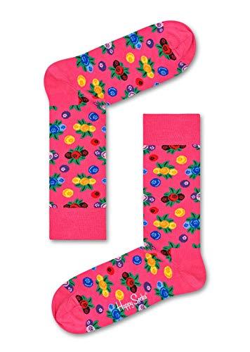 Preisvergleich Produktbild Happy Socks,  bunt klassische Baumwolle Socken für Männer und Frauen,  Pink Berry (41-46)