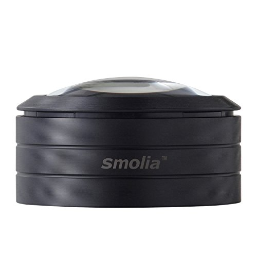 3R スリーアール LED拡大鏡 デスクルーペ [ LED 拡大鏡 smolia スモリア ] LED付 卓上ルーペ レンズ倍率3倍 3R-SMOLIA-L
