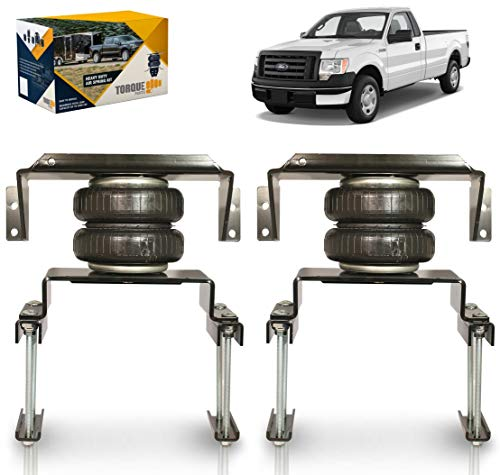 TORQUE Air Spring Bag Suspension Kit for 2009-2014 Ford F150 [up to 5,000 lbs....