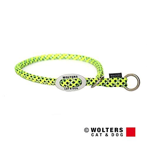 Wolters | Schlupfhalsband Everest reflektierend gelb/schwarz | Halsumfang 45 x B 1,3 cm
