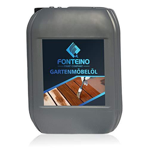 Gartenmöbelöl Holzmöbel Pflegeöl Holzschutz Holzöl Terrassenöl Teakholz 1L