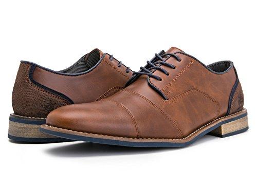 GW Mens 16573 Oxford Shoes 9M,Brown16573