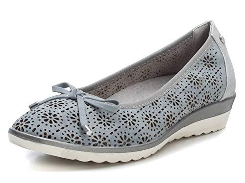 XTI Zapato Bailarina XTI044043 para Mujer Azul 40