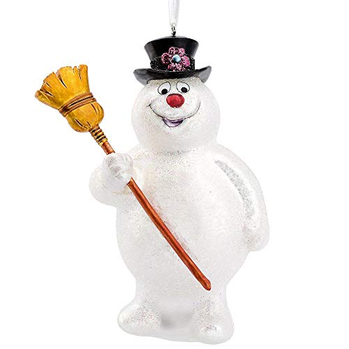 Bronners.com Frosty The Snowman Glass Christmas Ornament