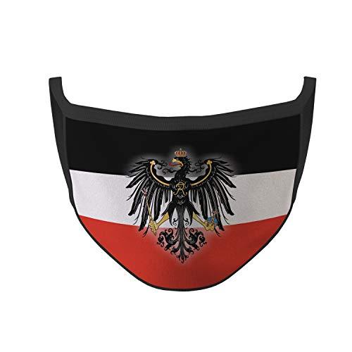 Copytec Mundmaske Preußen Adler Heimat Stolz Gesicht Maske Adler Nase #35448