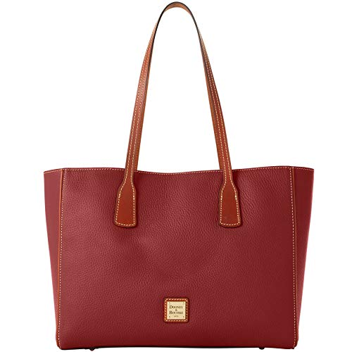 DOONEY & BOURKE ASHTON WINE SHOULDER TOTE (Dooney And Bourke Double Long Handle Tote)