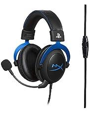 HyperX Cloud for PS4 HX-HSCLS-BL/EM Spelhörlurar för PS4-System Gaming Hörlurar Blå