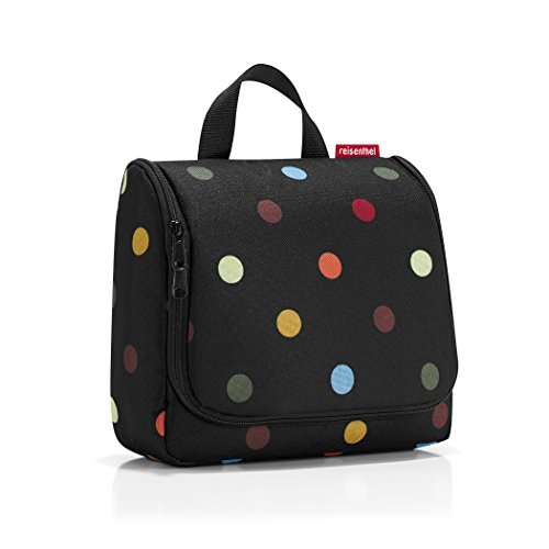 reisenthel toiletbag dots Maße: 23 x 20 x 10 cm / Maße: 23 x 55 x 8,5 cm expanded / Volumen: 3 l