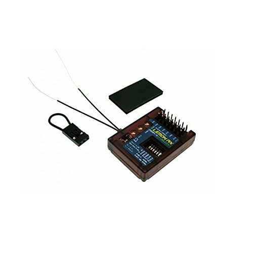 Lemon-RX DSMP/X Compatible 7-Channel Receiver with Stabilizer Plus & Diversity Antenna (Top-Pin) LM0043