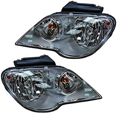 Headlight Assembly Set Dealing full price reduction of Mail order 2 - Compatible with 2007-2008 Chrysler