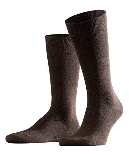 FALKE Herren Socken Swing 2-Pack - Baumwollmischung, 2 Paar, Braun (Brown 5930), Größe: 43-46