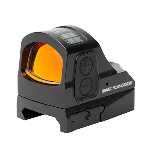 Price comparison product image HOLOSUN HS407CO-V2 Classic Red Dot Sight