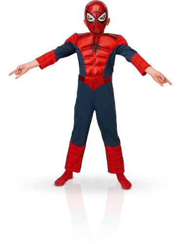 Rubie's-déguisement officiel - Spiderman - Costume Métallique Ultimate - Taille M- I-886923M