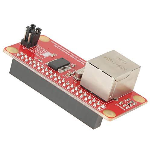 Einfacher ENC28J60-Adapter, Gigabit-Ethernet-Adapter Einfache Montage der Update-Software Einfache Installation aus Kunststoff