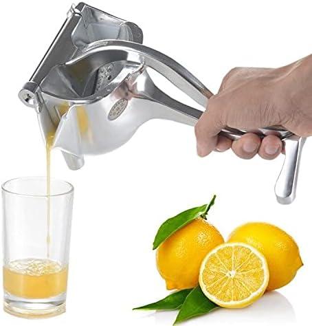 Exprimidor manual de cítricos, presión fácil, máxima extracción de zumo en frío, ecológico, irrompible, frescor máximo.