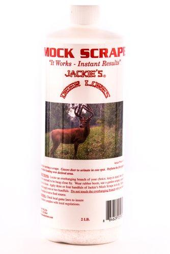 Jackies Deer Lures Mock Scrape Scent, 2-Pound, White (123)