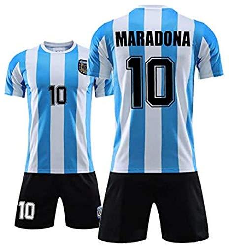 EWDS Uniformes de Fútbol en Maradona, para el Jugador más valioso de 1986, la Camiseta del Equipo de fútbol Argentino, la Camiseta de los Aficionados, la última Camiseta del Rey del fútbol. 18