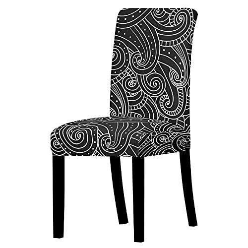 AIBABY Altmodischer Stuhlbezug Staubdichter Rutschfester Stuhlbezug Super Elastisch Weich Und Strapazierfähig Waschbarer Sofabezug