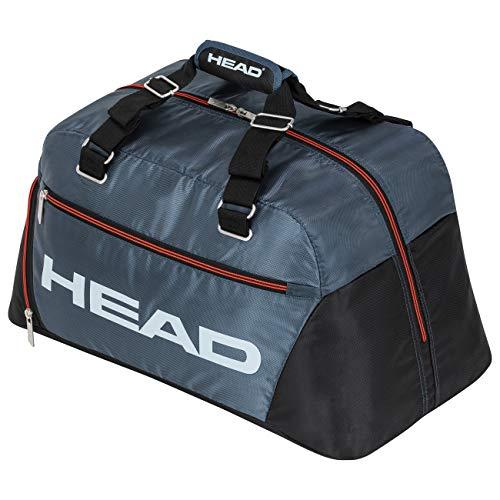 HEAD Unisex-Erwachsene Tour Team Court Bag Tennistasche, schwarz/grau, Einheitsgröße