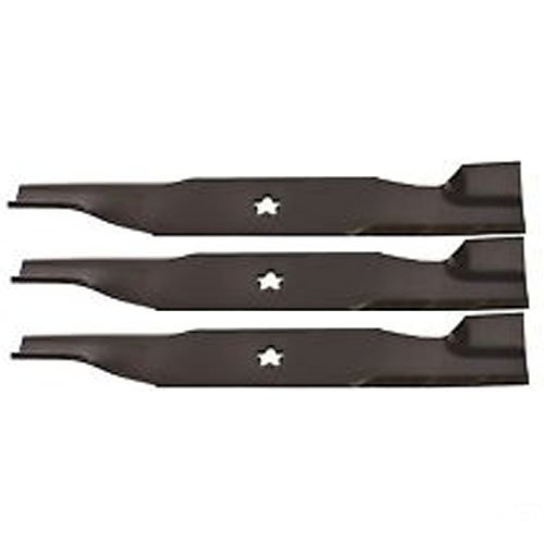 (3 Pack) Aftermarket Premium Replacement XHT Lawn Mower Deck Blade High Lift fits Husqvarna 532 18 00-54 | 16-3/4'' x 2-1/2'