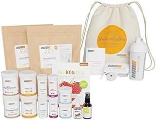 hCGC® De originele stofwisselkuur compleet pakket   42 dagen hCG dieet + 18 dagen cadeau   weidemelkproteïne   met push-IT...