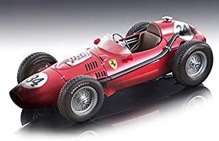 Ferrari Dino 246#34 Luigi Musso 2nd Place Formula 1 F1 Monaco GP 1958 (After The Race Version) Ltd Ed 65 pcs 1/18 Model Car by Tecnomodel TM18-153 B