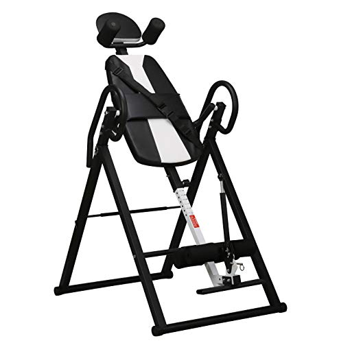 Lowest Prices! Adjustable Heavy Duty Inversion Therapy Table (Black)
