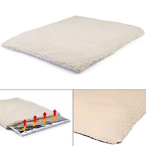 Self Heating Pet Blanket Pad Ideal for Cat/Dog Bed Medium